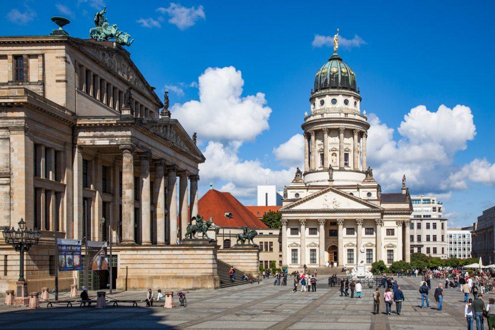De Gendarmenmarkt in Berlijn