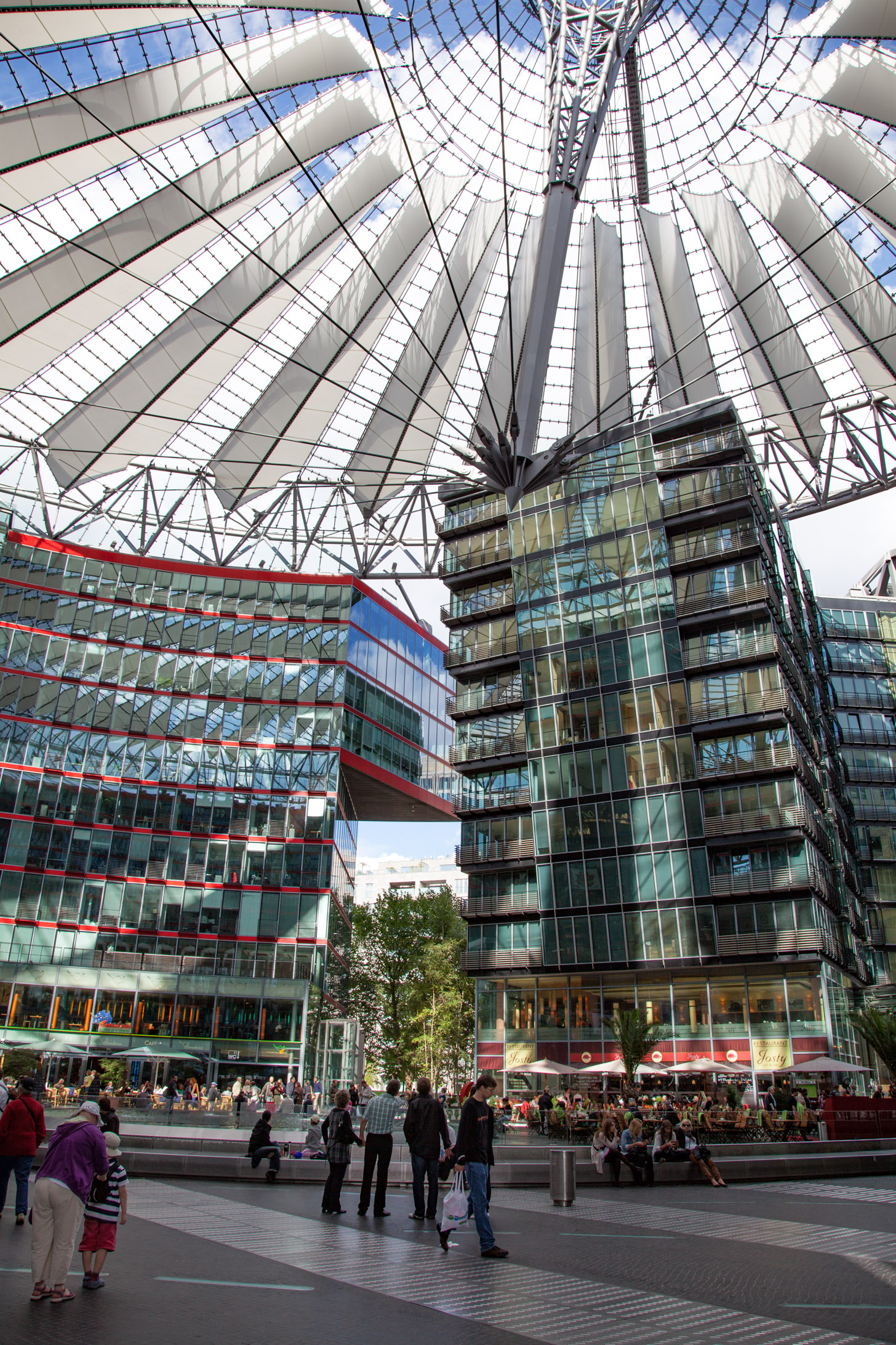Sony Center in berlijn