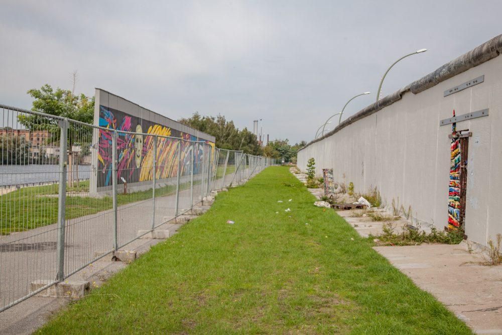 Restanten van de Berlijnse Muur