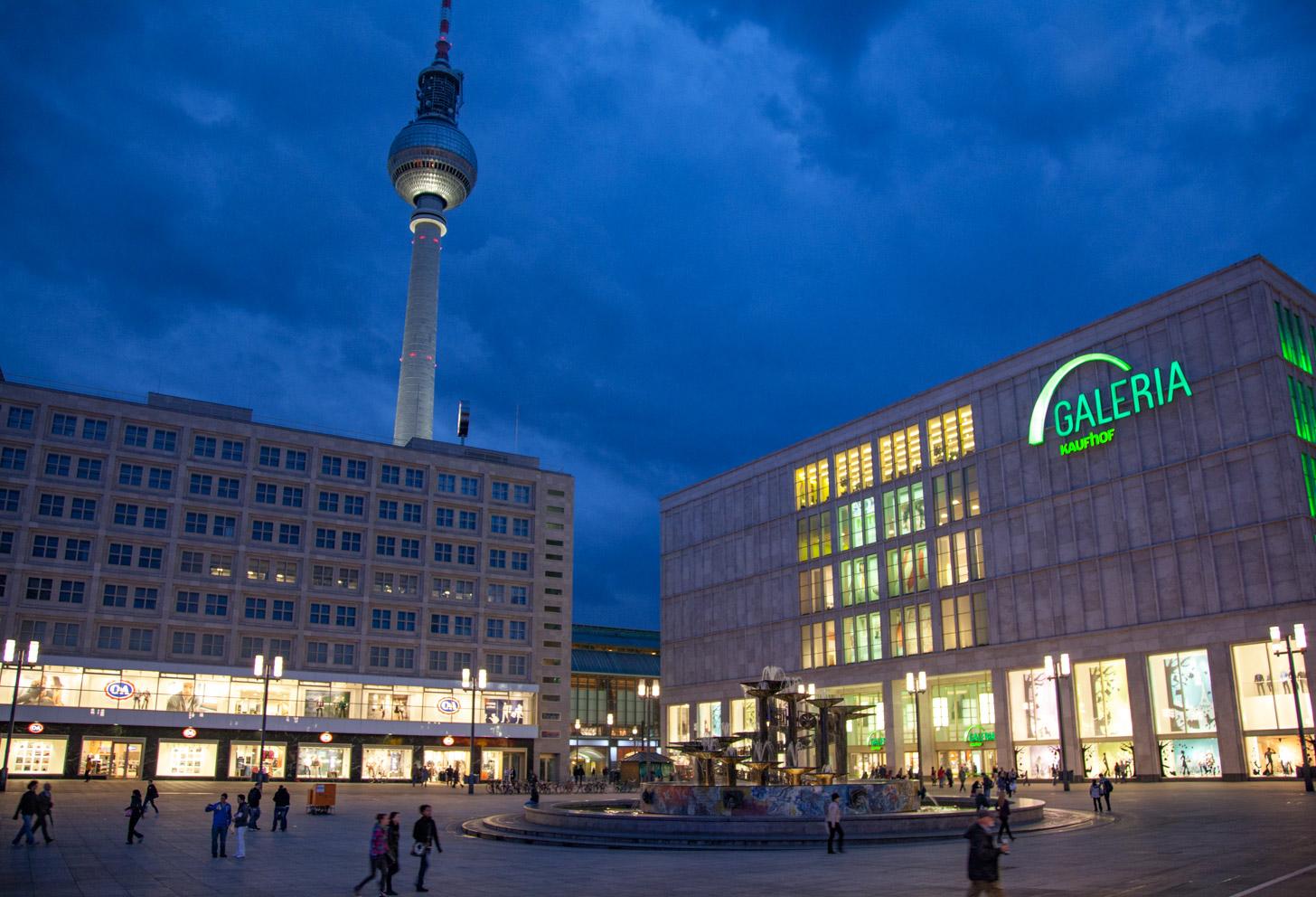 Openingstijden in Berlijn