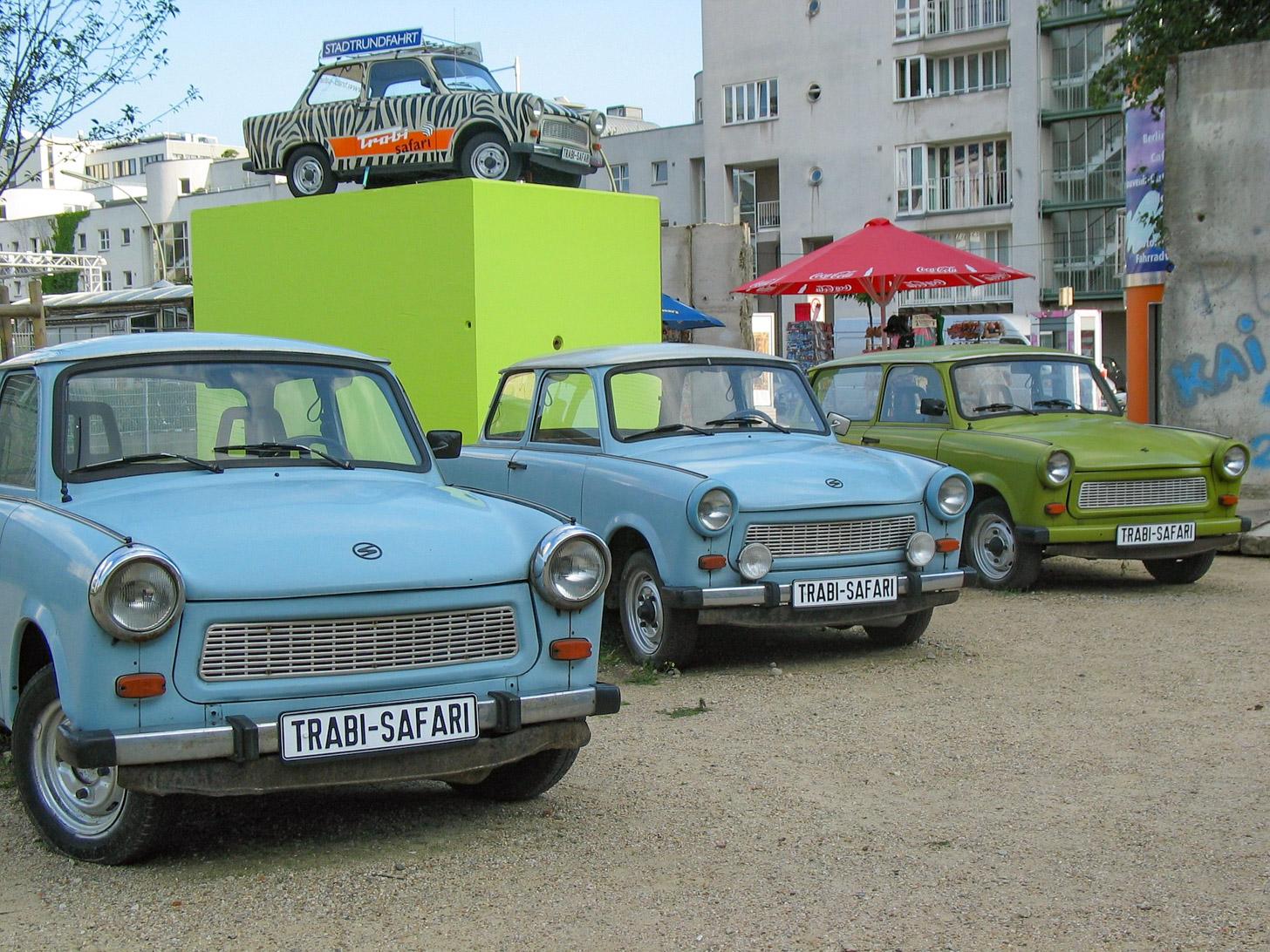 Trabi safari: rondrijden met een Trabant door Berlijn